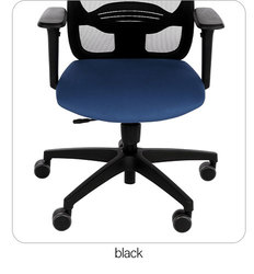 Nodi black - the mobile base of the swivel chair
