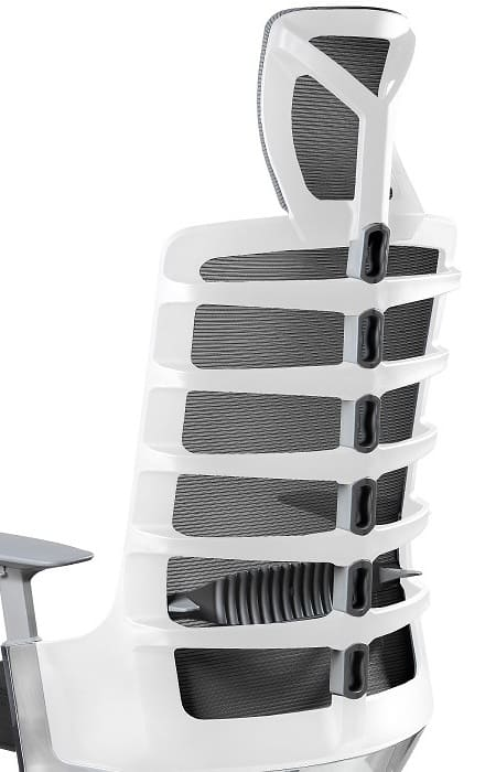 Ergonomic office chair Spinelly white
